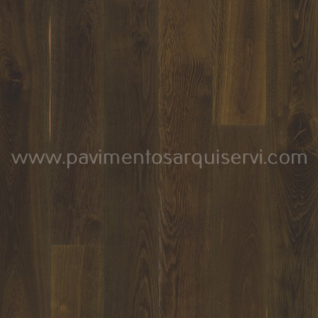Madera Natural Parquet Roble Story 188 Smoked Docklands Brown