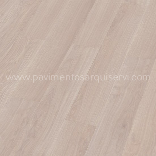 Tarimas Laminada Roble Waveless Blanco