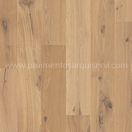 Madera Natural Parquet Roble Crudo Extra Mate