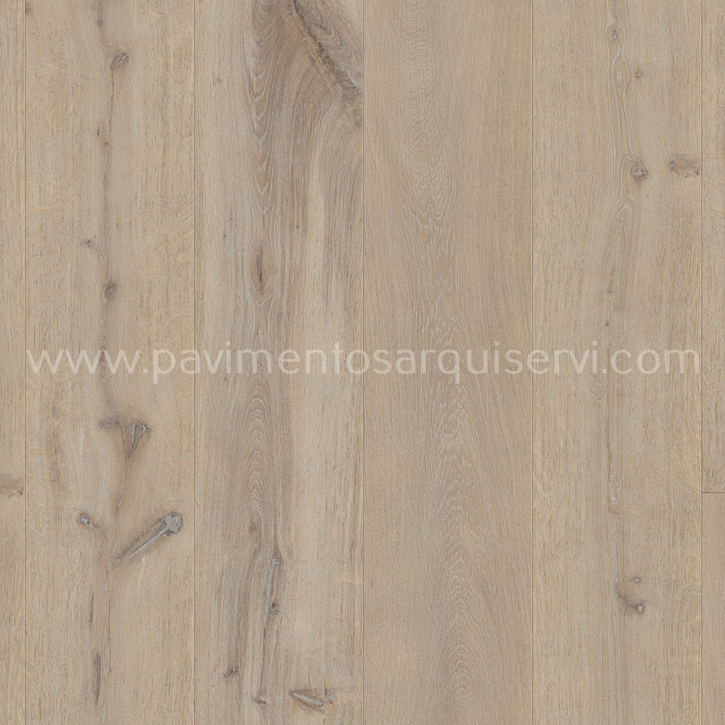 Madera Natural Parquet Roble Tormenta Invernal