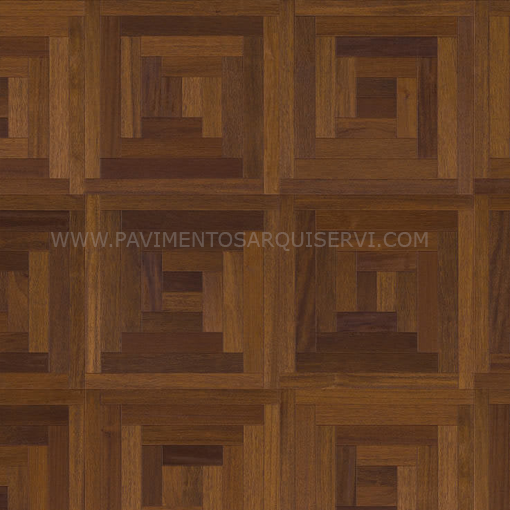 Madera Natural Parquet Merbau Loop
