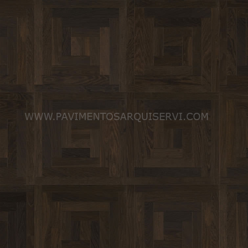 Madera Natural Parquet Roble Carbón Loop