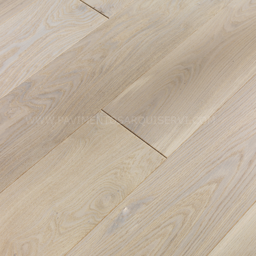Madera Natural Parquet Roble Marfil Blanco