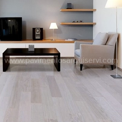Madera Natural Parquet Artic White