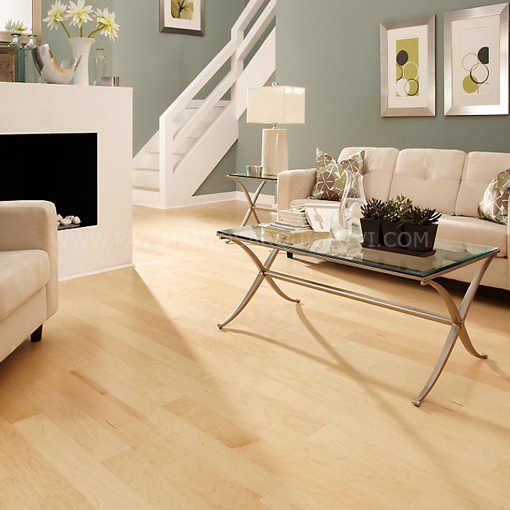 Madera Natural Parquet Arce Canadiense