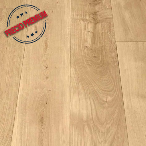 Madera Natural Parquet Roble Invisible
