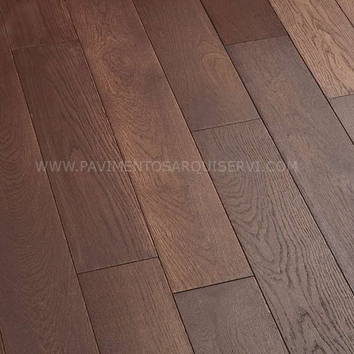 Madera Natural Parquet Roble Chocolate