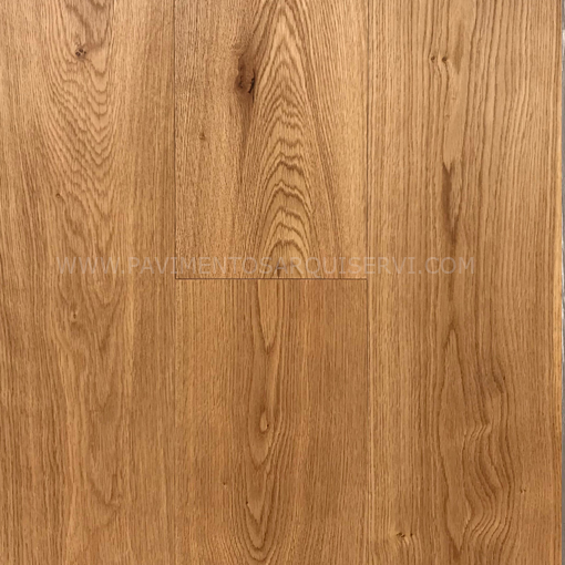Madera Natural Parquet Roble Satinado Liso
