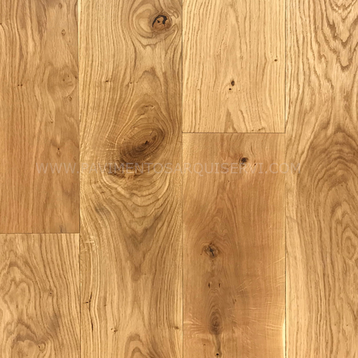 Madera Natural Parquet Roble Europeo