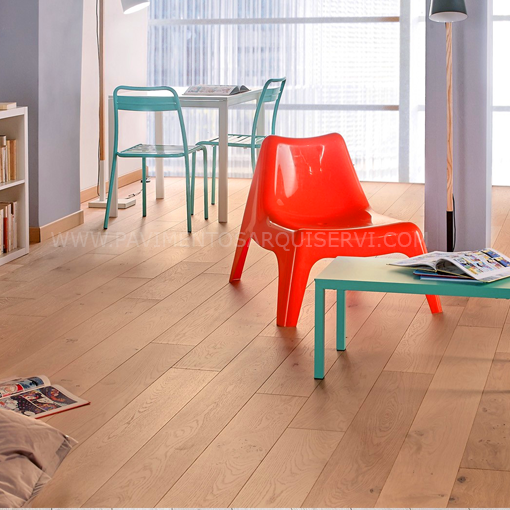 Madera Natural Parquet Roble Manet
