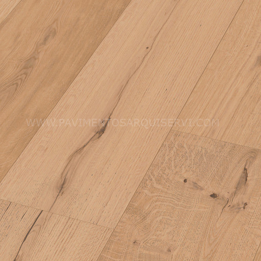 Madera Natural Parquet Roble Autentico Caramelo
