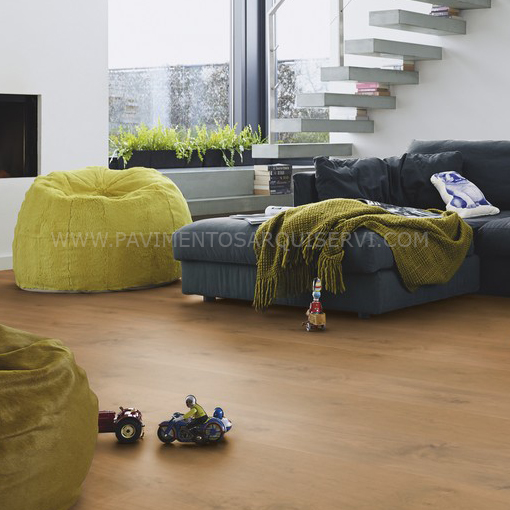 Madera Natural Parquet Roble Vivo Cappucino