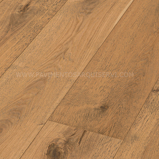 Madera Natural Parquet Roble Rustico