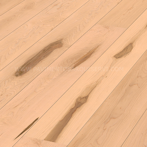 Madera Natural Parquet Arce Canadiense Vivo