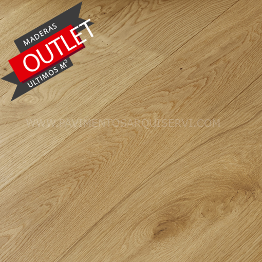 Madera Natural Parquet Roble Satinado 1 Lama