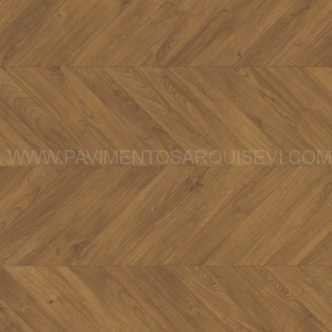 Tarimas Laminada Roble Marrón Chevron