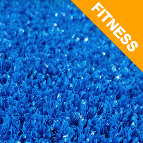 Césped artificial  Fitness Azul