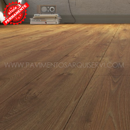 Tarimas Laminada Roble Natural Tostado