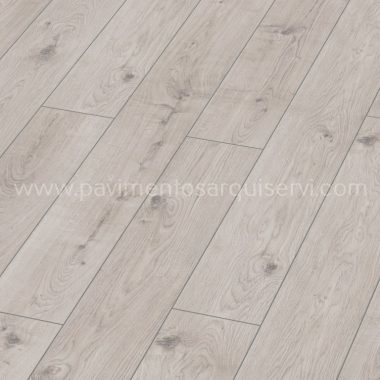 Tarimas Laminada Roble Everest Weiss