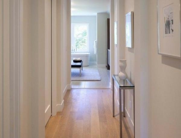 pasillo, suelos laminados madera