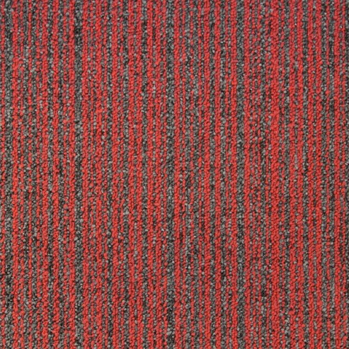 moqueta roja coleccion prima ligne tecsom pavimentos arquiservi