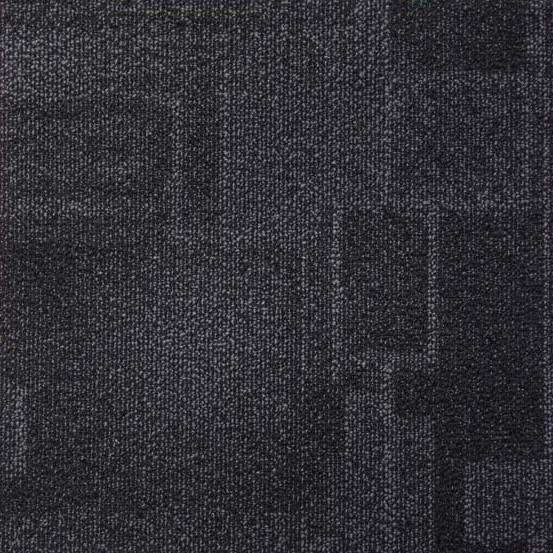 moqueta negra coleccion esquare evolution tecsom pavimentos arquiservi