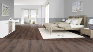 SUELO LAMINADO COURAGE LINE am D09 ROBLE MARRON OSCURO TERHURNE PAVIMENTOS ARQUISERVI
