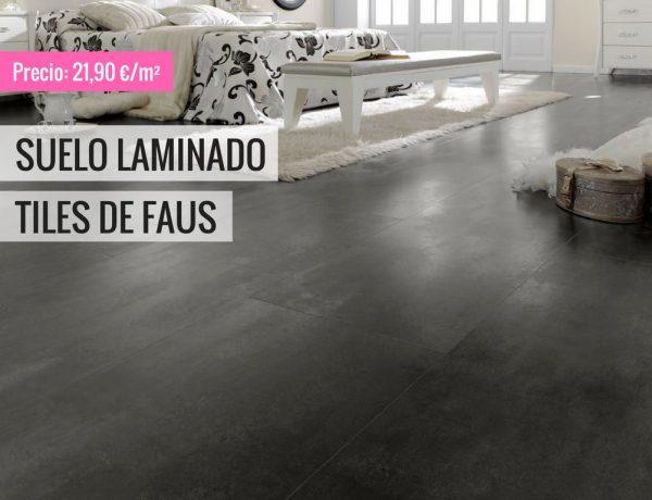 SUELO LAMINADO TILES DE FAUS