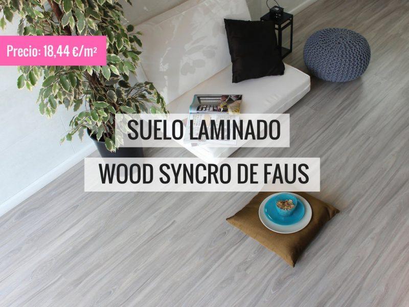 SUELO LAMINADO WOOD SYNCRO DE FAUS PAVIMENTOS ARQUISERVI