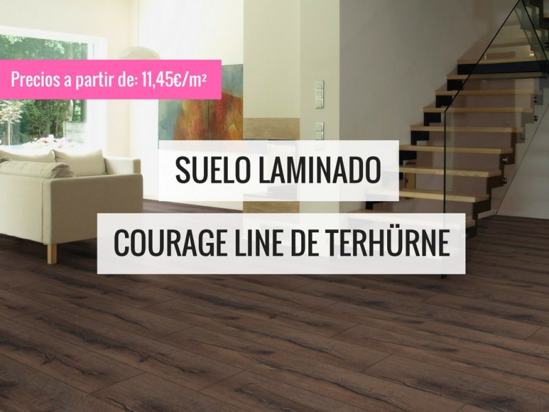 Suelo laminado Courage Line de TerHürne PAVIMENTOS ARQUISERVI