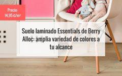 Suelo laminado Essentials de Berry Alloc amplia variedad de colores a tu alcance
