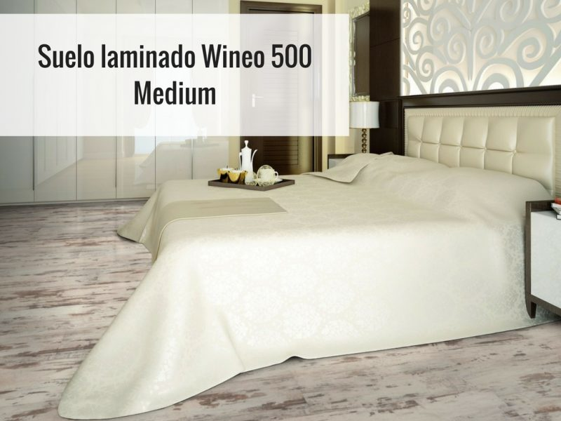 Suelo laminado Wineo 500 Medium