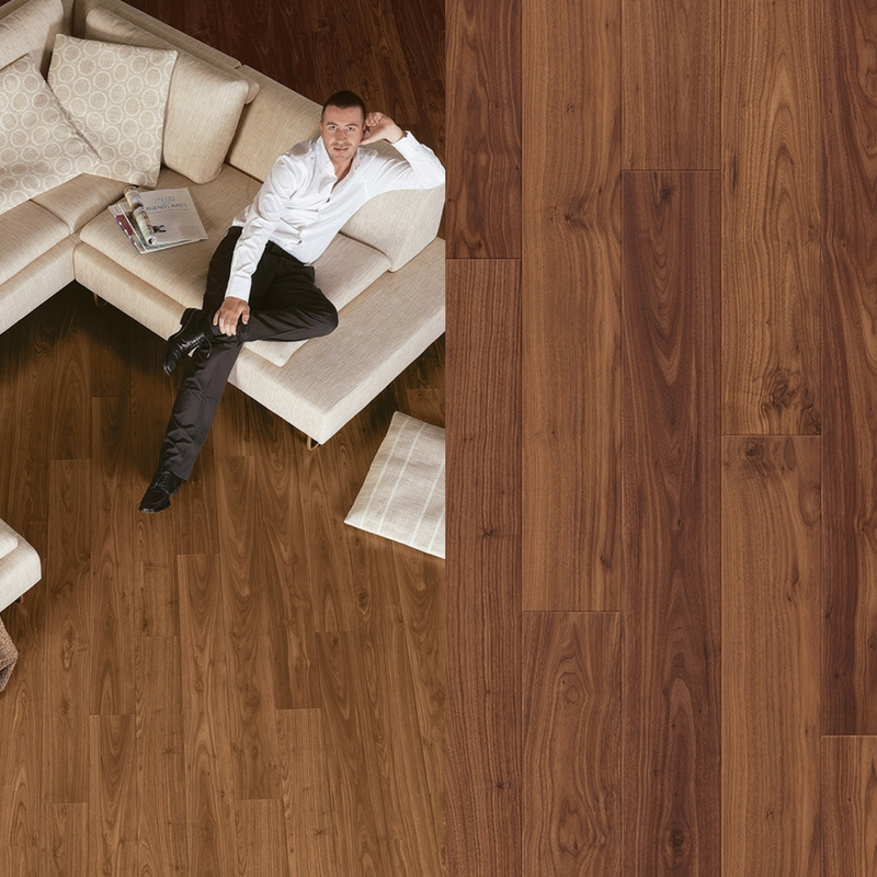 suelo laminado nogal aceitado perspective quick-step pavimentos arquiservi