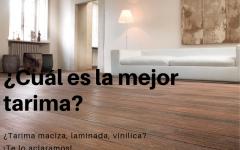 Tarima, cuál es mejor: flotante, parquet, suelo laminado o vinílico