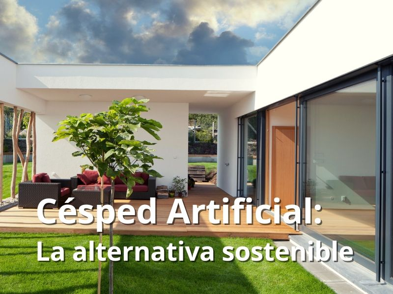 Césped artificial como alternativa sostenible