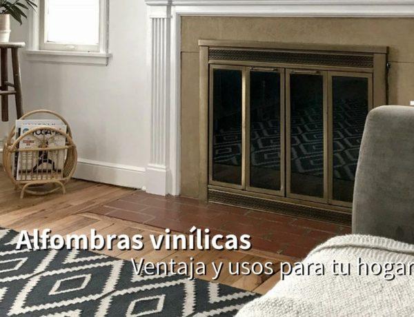 Alfombras vinílicas: decoración original y ecológica