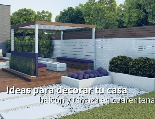 Ideas para decorar el suelo de la terraza y el balcón sin obras