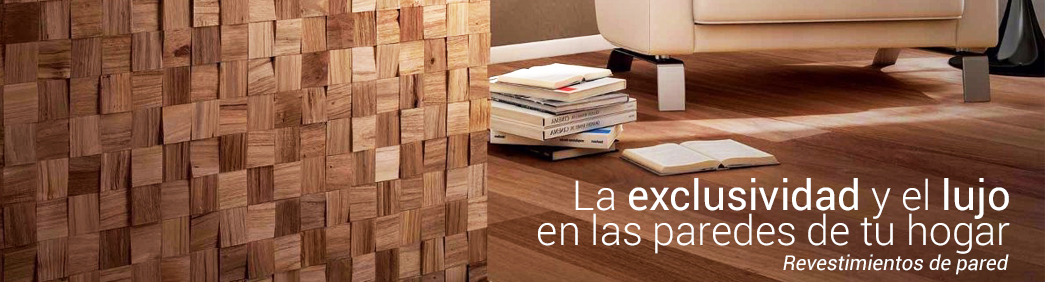 Revestimiento de pared Madera Natural