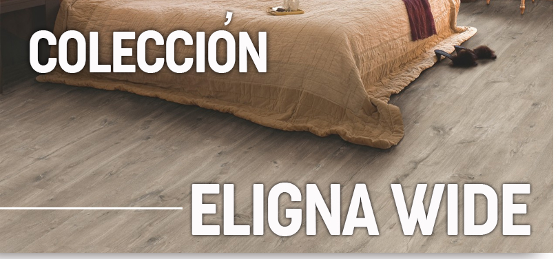 Suelo laminado Quick Step - Eligna Wide