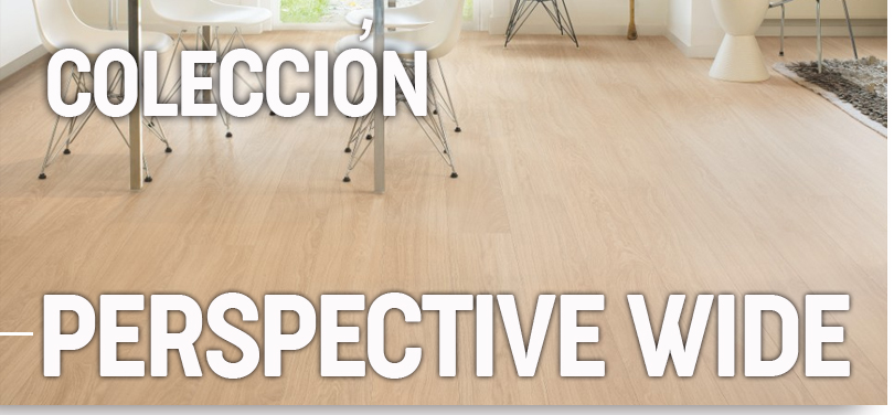 Suelo laminado Quick Step - Perspective Wide