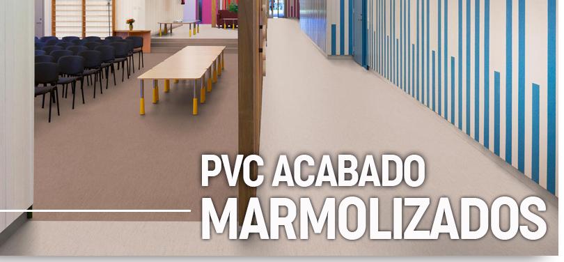 Suelos vinilicos uso comercial acabado marmolizado for Suelo pvc autoadhesivo